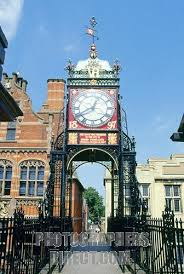 Eastgate Clock Chester Wales
